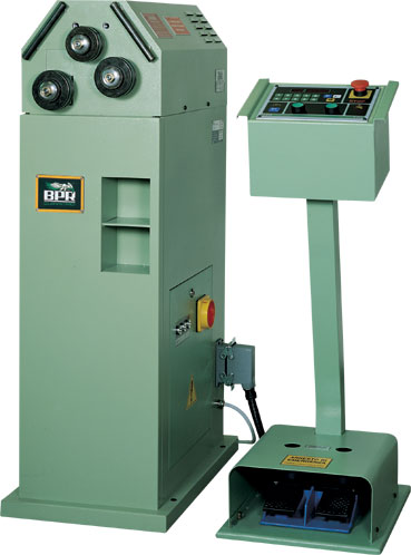 Asymetrical CPS20 bending machines. BPR CURVATRICI.