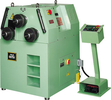 Asymetrical CPS50 bending machines. BPR CURVATRICI.