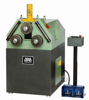 Curvatrice posizionamento idraulico zh402
